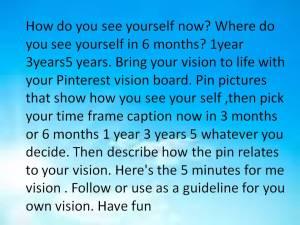 Pinterestvisionboard