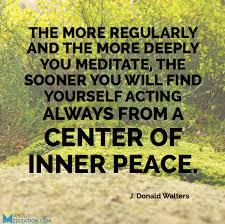 center of inner peace
