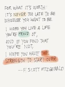 F Scott Fitsgerald